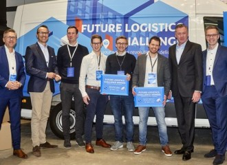 Viscopic, a finalist for the delina Award, wins the Future Logistics Challenge