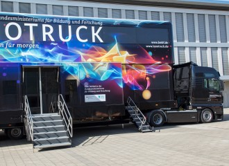 The InnoTruck Makes Innovations Understandable for Young People